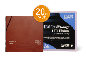 IBM LTO 5 Ultrium Tape + Label 20 St