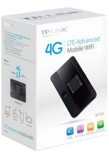 TP-LINK M7350 mobile 4G/LTE WLAN Router